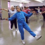 Seniors exercising for physical and mental agility. Wikimedia Commons.